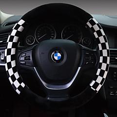 зимние квадраты плюшевых автомобиль руль установить набор коротких плюшевых рулевого колеса установленного количества