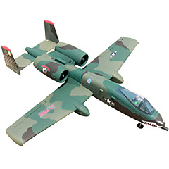 Dynam A-10 1:8 Brushless Electric 70KM/H RC Airplane 4ch 2.4G EPO green RTF