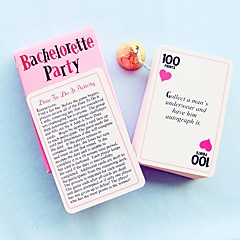 Recipient Gifts - 1Pcs/Set, Bachelorette Party Dare to Do It Activities Game Cards, Wedding Favors