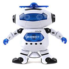 360 회 어린이 전자 도보 춤 스마트 공간 로봇 아이는 우주 비행사 모델 음악 광 장난감을 냉각