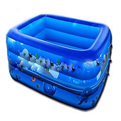 물 놀이기구 야외 장난감 사각형 PVC 브라운 아동용 3 위