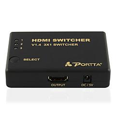 PORTTA HDMI V1.4 3D Display / 1080P / CEC / HDCP 1.2 Compliant 3.4