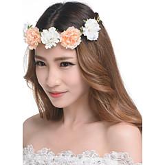נשים שרף / פלסטיק כיסוי ראש-חתונה / חוץ זרי פרחים חלק 1