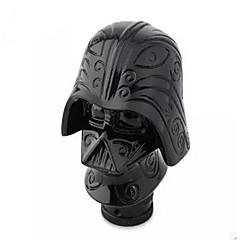 modificada carro engrenagem personalizada alavanca de cabeça da vara Darth Vader engrenagem de transmissão manual de mudança de botão