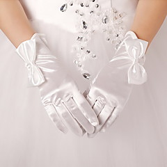 Wrist Length Fingertips Glove Spandex Bridal Gloves / Party/ Evening Gloves Spring / Summer /