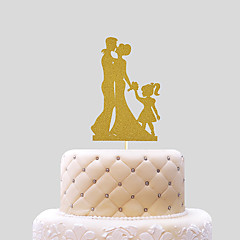 Kiss Cake Topper