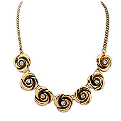 Rose Court Beauty Fashion Wild Short Necklace Birthday Gift Accessories