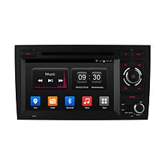"""アウディA4 2002 ownice 7 """"16グラムロムクアッドコアカーDVDプレーヤー - アンドロイド4.4 GPSナビゲーションラジオで2008を1024 * 600"""