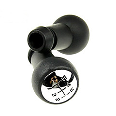 botão preto universal aplicável hr-2320 transmissão manual de mudança de velocidade