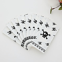 100% virgin pulp 50pcs Skeleton Wedding Napkins
