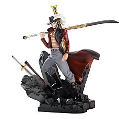 전투 차고 키트 애니메이션 액션 피규어 모델 장난감의 호크 아이 mihawk 왕의 다른 극장 버전의 상단에