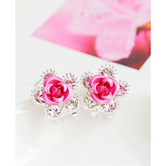 Alloy Earrings Stud Earrings Wedding/Party 1 pair