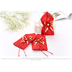1 Piece/Set Favor Holder-Cuboid Nonwoven Fabric / Jute Favor Bags Non-personalised