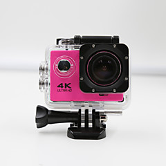 Sports Camera 4K  WIFI Waterproof Action Camera High Defenition 2.0 Inch Sports DV 360 Degree Sport Camera Red
