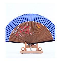 Seide Ventilatoren und Sonnenschirme-1 Stück / Set Stück / Set HandfächerStrand Thema Garten Thema Asiatisches Thema Blumen Thema