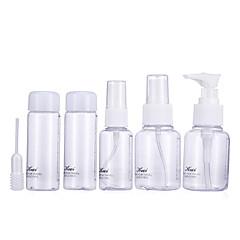 בקבוקי קוסמטיקה Plastic 6 Others / מידה לטיולים חום / Bisque