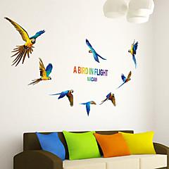 Tiere Wand-Sticker Flugzeug-Wand Sticker Dekorative Wand Sticker,PVC Stoff Repositionierbar Haus Dekoration Wandtattoo