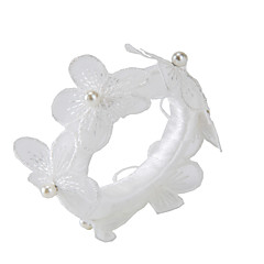 Pérola / Acrílico Guardanapos de casamento-2 Piece / Set anéis de guardanapo