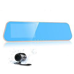 4.3 Bildschirm Dual-Objektiv Recorder k10 hd Weitwinkel-Rückspiegel Fahrtenschreiber Nachtsicht 1080p