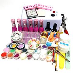 Nail Polish UV Gel  15ML 29 Glitters / Color Changing / UV Color Gel / UV Base Gel / UV Top