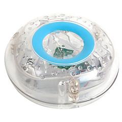 아이들은 수중 플래시가 화려한 플로트 욕조 램프 장난감 투명한 하늘색을 주도 목욕