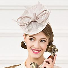 成人用 羽毛 フラックス かぶと-結婚式 パーティー カジュアル ヘッドドレス ハット 1個