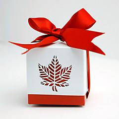 12 יחידה / סט מחזיק לטובת-מעוקב נייר כרטיסיםקופסאות קישוט תיקי קישוט קופסאות ודליי קישוט צנצנות ממתקים ובקבוקים קופסאות ועטיפות לקאפקייק