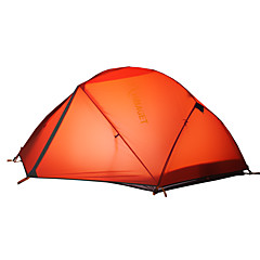 HIMAGET 2 persons Tent Double One Room Camping Tent >3000mm Aluminium Oxford Polyester TaffetaMoistureproof/Moisture Permeability