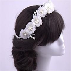 Mujer Perla Artificial / Gasa Celada-Boda / Ocasión especial Bandas de cabeza 1 Pieza