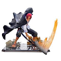 Figur Null Kampf Spielzeug rotes Haar Piraten Schäften Anime-Action-Figuren Modell