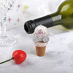 Random Color / Type Shipping - 1Piece/Set - Fairytale Happily Ever After Bottle Stopper Wedding Favors