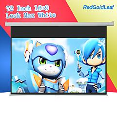 redgoldleaf 72 дюймов 16/9 замок тянуть вниз экрана проектора
