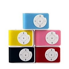 Cute Q Key MP3 Card Clip MP3 Mini Clip Player Sports MP3