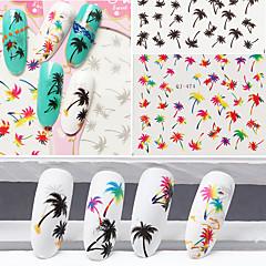 1pcs Nagel-Kunst-Aufkleber Wassertransfer Abziehbilder Make-up kosmetische Nail Art Design