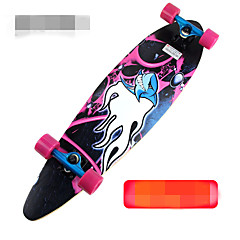 Metalliseos Standardi Skateboards ABEC-9-Musta Oranssi Purppura Vihreä