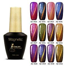 Nail Polish UV Gel  12 1 UV Color Gel Soak off Long Lasting