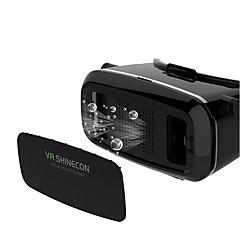 réalité virtuelle casque vr shinecon lunettes 3d film de jeu pour smartphone whi gamepad télécommande bluetooth