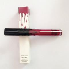 Lipgloss / Lip Liner Nass / Matt Flüssigkeit Farbiger Lipgloss / Lang anhaltend / Natürlich Braun / Rot 1
