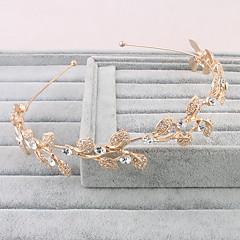 Women's Imitation Pearl Headpiece-Wedding Special Occasion Casual Outdoor Tiaras 1 Piece