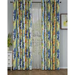Ein Panel Window Treatment Designer , camuflaje Wohnzimmer Polyester Stoff Vorhänge drapiert Haus Dekoration For Fenster