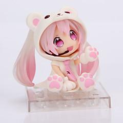 Anime Action Figurer Inspirert av Cosplay Snow Miku PVC 14 CM Modell Leker Dukke