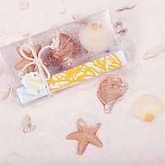 Spiaggia Giardino Vegas Asia Floreale Farfalla Classico Favola Doccia bebè Bomboniere Candela Pezzo / Imposta Candele PortacandeleNon