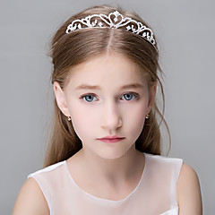 Women's Rhinestone Crystal Stainless Steel Titanium Headpiece-Wedding Special Occasion Casual Office & Career OutdoorTiaras Headbands