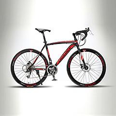 Road Bikes Pyöräily 21 Nopeus 26 tuumaa/700CC TX30 BB8 Tuplalevyjarru Ei vaimennusta Monokokki Hardtail-runko Tavallinen Alumlinlseos