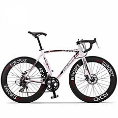 Road Bikes Pyöräily 14 Nopeus 26 tuumaa/700CC 60mm Miesten / Unisex Aikuinen SHIMANO A050 Tuplalevyjarru Ei vaimennustaMonokokki /
