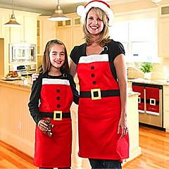 kerstversiering grondstoffen kerst schort familie kerst feestartikelen