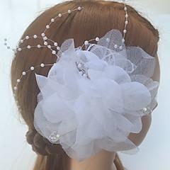 נשים טול אקרילי רשת כיסוי ראש-חתונה אירוע מיוחד קז'ואל פרחים תפסים לשיער חלק 1