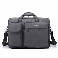 17,3 tommers multi-compartment laptop skulder bag hånd bag for dell / hp / Sony / acer / lenovo / overflatevann etc