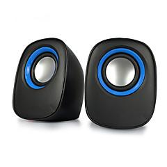 Könyvespolc számítógépes hangszóró 2.0 CH Hordozható / Sztereó / Mini / Super Bass