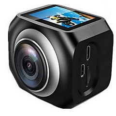 YS-360VR Action Camera / Sports Camera 20MP 4608 x 3456 WiFi 調整可 ワイヤレス 広角 30fps 非対応 ±2EV 非対応 CMOS 32 GB H.264 シングルショット バーストモード タイムラプス